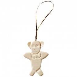 Teddy in wood to Hang