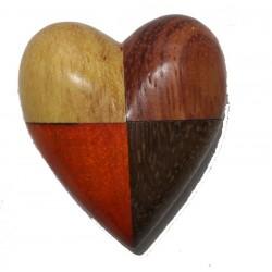 The Miniature wooden Heart