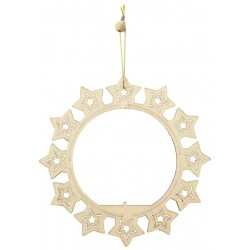 Chriostmas decoration Circle with stars