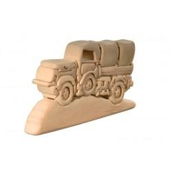 Der Lastwagen, Dolfi Holz 3D Puzzle
