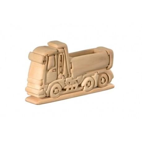 Camion puzzle 3d in legno