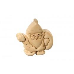Babbo Natale puzzle 3d in legno
