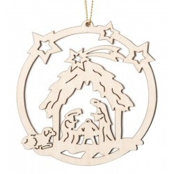 Holy family - Christmas tree decorations