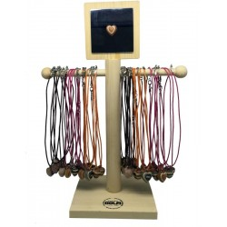 36 Necklace heart display