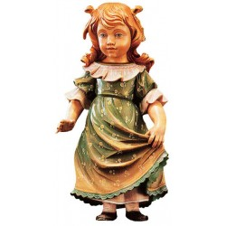 Freestanding Doll Claudia carved in wood Collectible Figure - Dolfi Engagement Gifts for Couples
