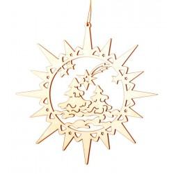 Stern mit Weihnachtsatmosphäre