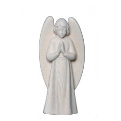 the Praying Guardian Angel - Dolfi Angels wood - Made in Italy - natural