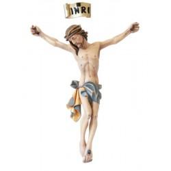 Corpo di Cristo realizzato in fibra di vetro - vetroresina in fibra di vetro - vetroresina - colori ad olio