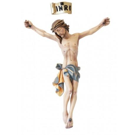 Corpo di Cristo realizzato in vetroresina - colorato a olio