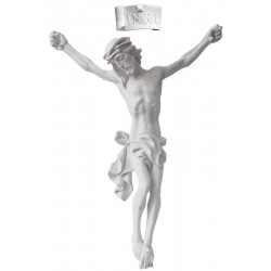 Body of Christ in Fiberglas - Dolfi Church Statue - Made in Italy - natural