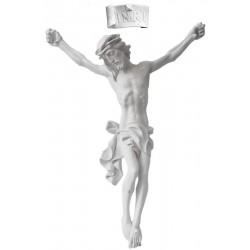 Christuskörper aus Fiberglas; Dolfi Kunststoff und Polyresin in Traditionellem Stil aus Südtirol - Naturbelassen