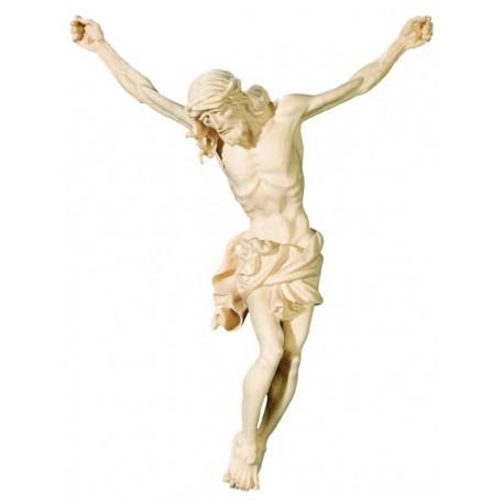 Jesus Christus Körper barock in Ahornholz - Natur