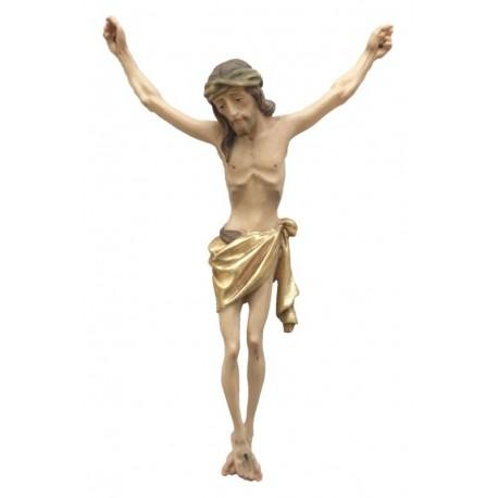 Corpo di Cristo con corona di spine - drappo dorato