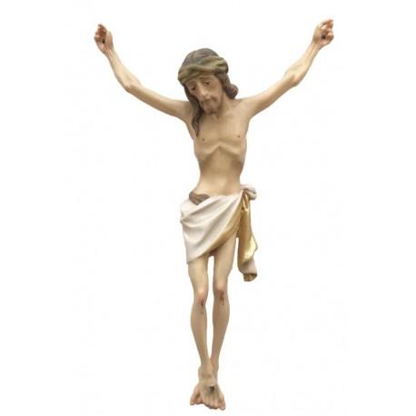 Christuskörper mit Dornenkrone - Weißes Tuch