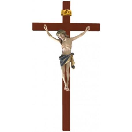 Balken gebogen mit Christuskörper - Blaues Tuch