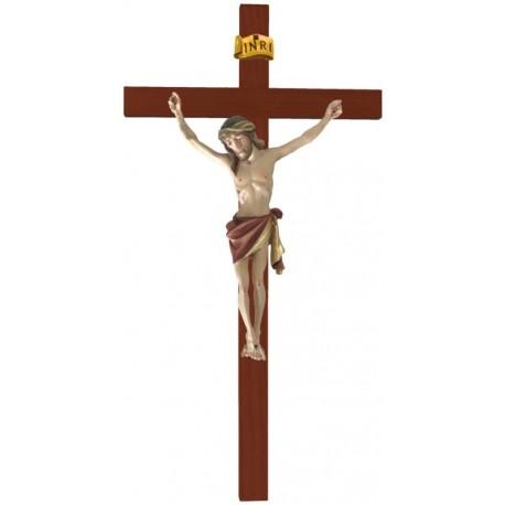 Balken gebogen mit Christuskörper - Rotes Tuch