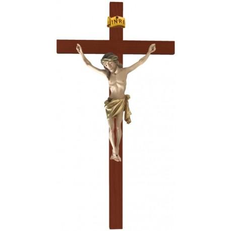 Balken gebogen mit Christuskörper - Vergoldetes Tuch