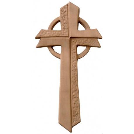 "Kreuz "" Betlehem "" modern - Hell braun"