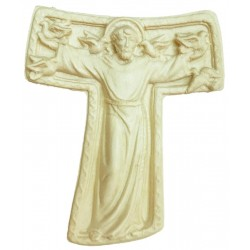 Tau Cross St. Francis wooden - natural