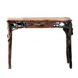 Scrittoio con cassetto centrale adatto come piccola scrivania