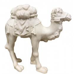 Camel carved in maple wood  - the size of the animal is in Proportion to the size of the Figures - natural