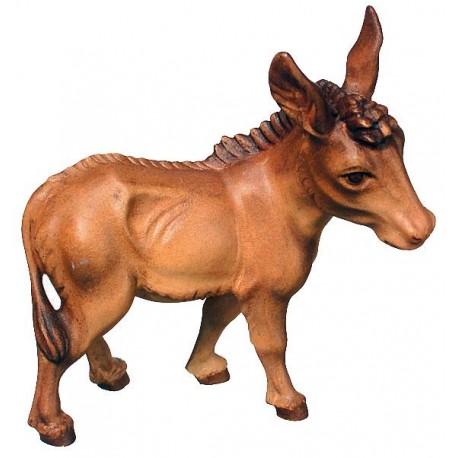 Donkey wood carved - color