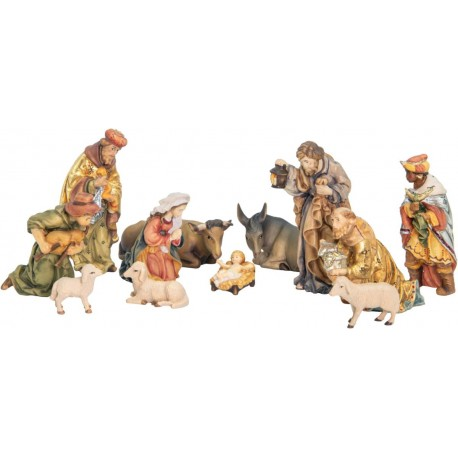 Matteo Nativity Set with 12 Pieces without stable - color