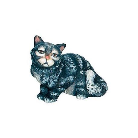 Sitting Cat - painted