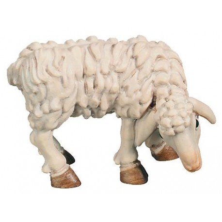 Chewing Sheep for wood nativity set - color