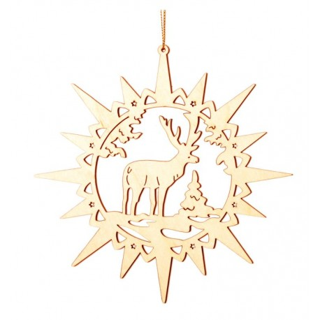 Star with dreaming Deer