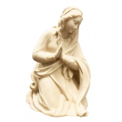Mary carved in maple wood - natural