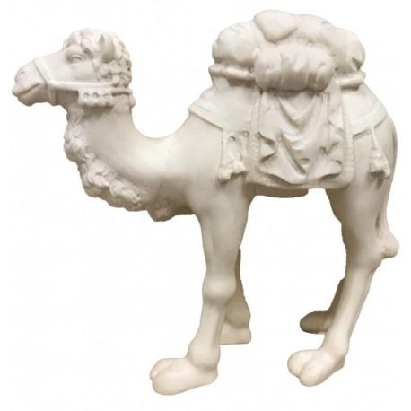 Cammello scolpito finemente in legno di acero, statuine presepe scolpite in legno, Alpe di Siusi - naturale