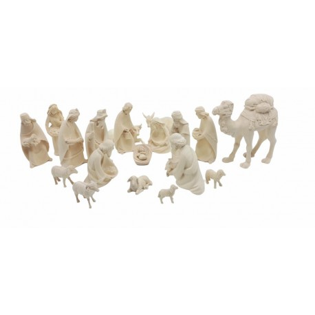 Nativity Set 20 Pcs without Stable - natural