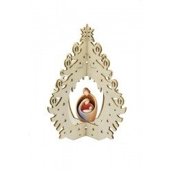 Christmas decoration with Holy Family