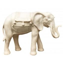 Elefant aus Holz - Natur