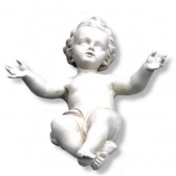 Infant of Jesus for Crib in Fiberglass - natural
