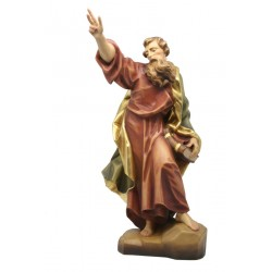 Heiliger Paulus aus Holz - lasiert
