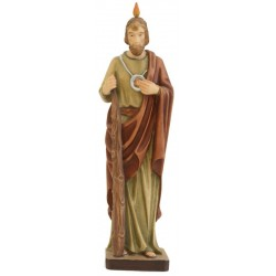 Saint Jude - Dolfi small Wooden Sculptures - Made in Italy - oil colors