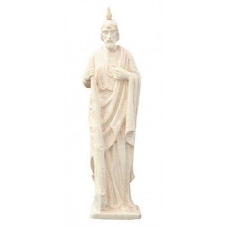 Saint Jude - Dolfi small Wooden Sculptures - Made in Italy - natural