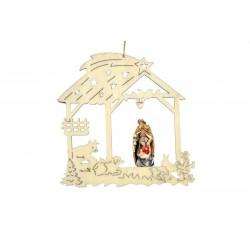 Christmas tree crib - color