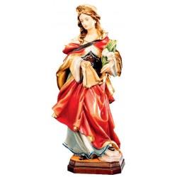 Heilige Veronika in Holz geschnitzt - lasiert
