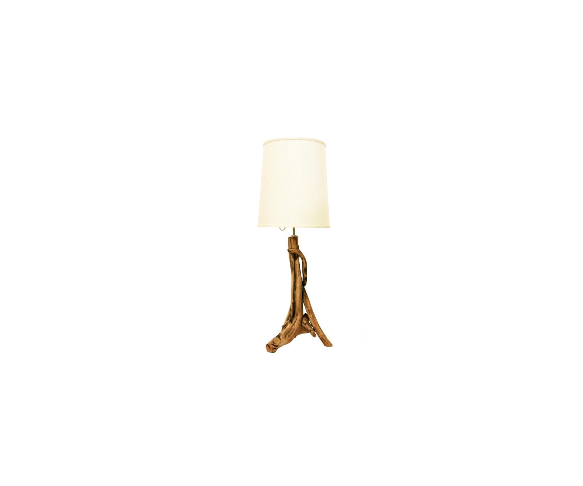 Lampada da tavolo finemente scolpita in legno dolfi wood - Lampada da tavolo legno ...