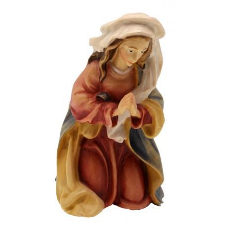 Maria, Mutter Gottes aus Ahornholz geschnitzt, diese Holzskulptur ist eine edle Grödner Schnitzerei - Ölfarben lasiert