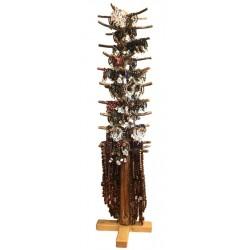 Espositore grande con braccialetti e rosari - Dolfi rosario in legno, Trentino Alto Adige