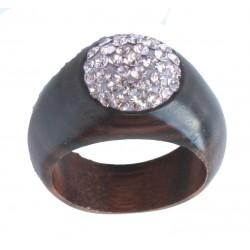 Ring Rosa - 54 = 17mm    56 = 17,5mm    58 = 18mm    60 = 19mm | Dolfi Holzringe Schmuck, aus Gröden