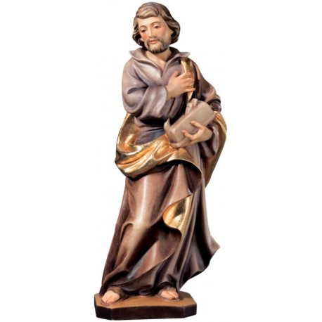 Saint Joseph the Worker with Planer wood carved statue