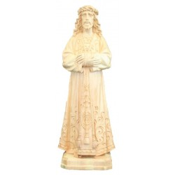 Jesus De Medinaceli of Madrid wood carved in Italy - Dolfi Collection Religious Statues - natural