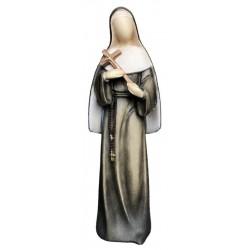 Heilige Rita der Cascia-Statue aus Holz - lasiert