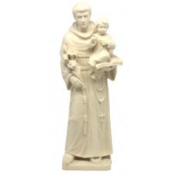 Heiliger Antonius aus Holz - Natur