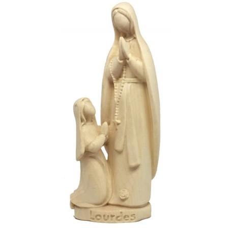 Lourdes con Bernardetta - naturale
